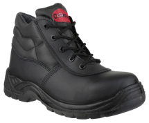 FS30C Lace-up Safety Boot Black 8