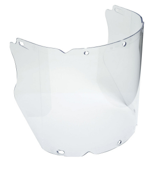 V-Gard Propionate Moulded Visor with Chinguard (Clear)