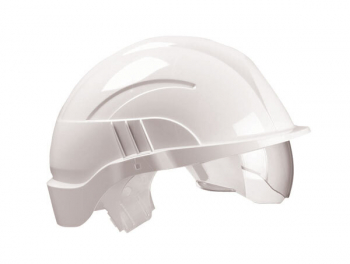 Vision Plus Safety Helmet c/w Integrated Visor