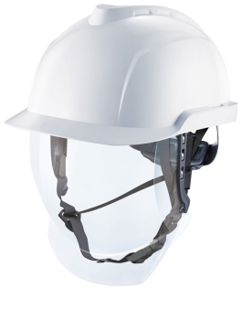 V-Gard 920 Electrician White Helmet Set