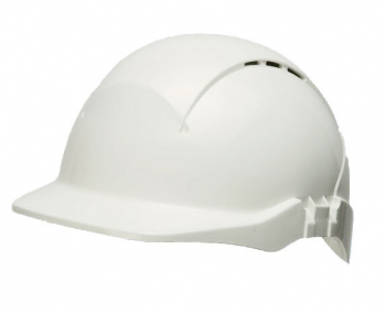 Concept Reduced Peak Vented Safety Helmet