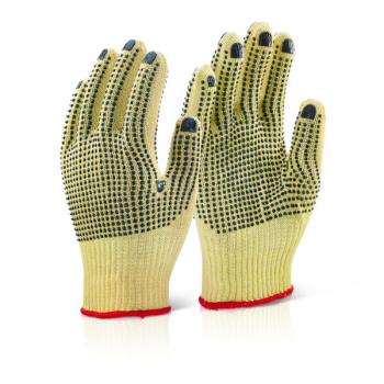 Kevlar Mediumweight Dotted Gloves