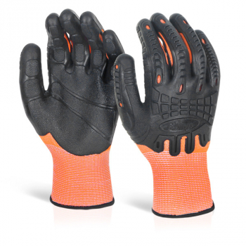 Glovezilla Cut Resistant Fully Coated Impact Gloves
