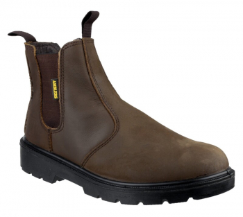 FS128 Hardwearing Pull on Safety Dealer Boots