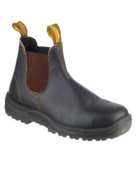 192 Industrial Slip on Safety Dealer Boots