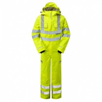 Pulsar Waterproof Hi-Vis Coverall