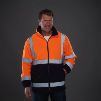 Yoko Hi-Vis Heavyweight Fleece Jacket