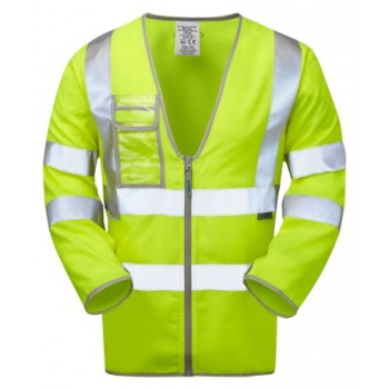 Pulsar® 2 Band & Brace Long Sleeve Hi-Vis Jerkin