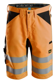 Snickers LiteWork, Hi-Vis Shorts+ Class 1