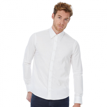 B&C London Long Sleeve Shirt