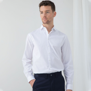 Henbury Stretch Long Sleeve Shirt