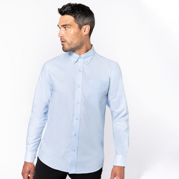 Russell Easycare Oxford Long Sleeve Shirt