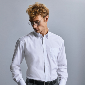 Russell Ultimate Non-Iron Long Sleeve Shirt