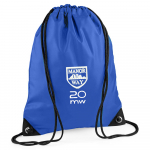 Manor Way Royal PE Drawstring Bag