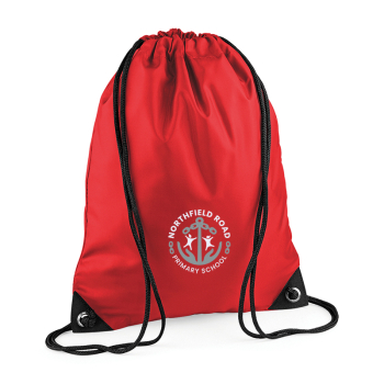 Northfield Road PE Drawstring Bag