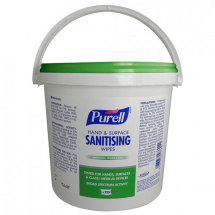 Purell Hand And Surface Sanitising Wipes (Bucket) Case of 6