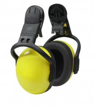 V-Gard Left/Right Helmet Mounted Ear Defender Yellow High